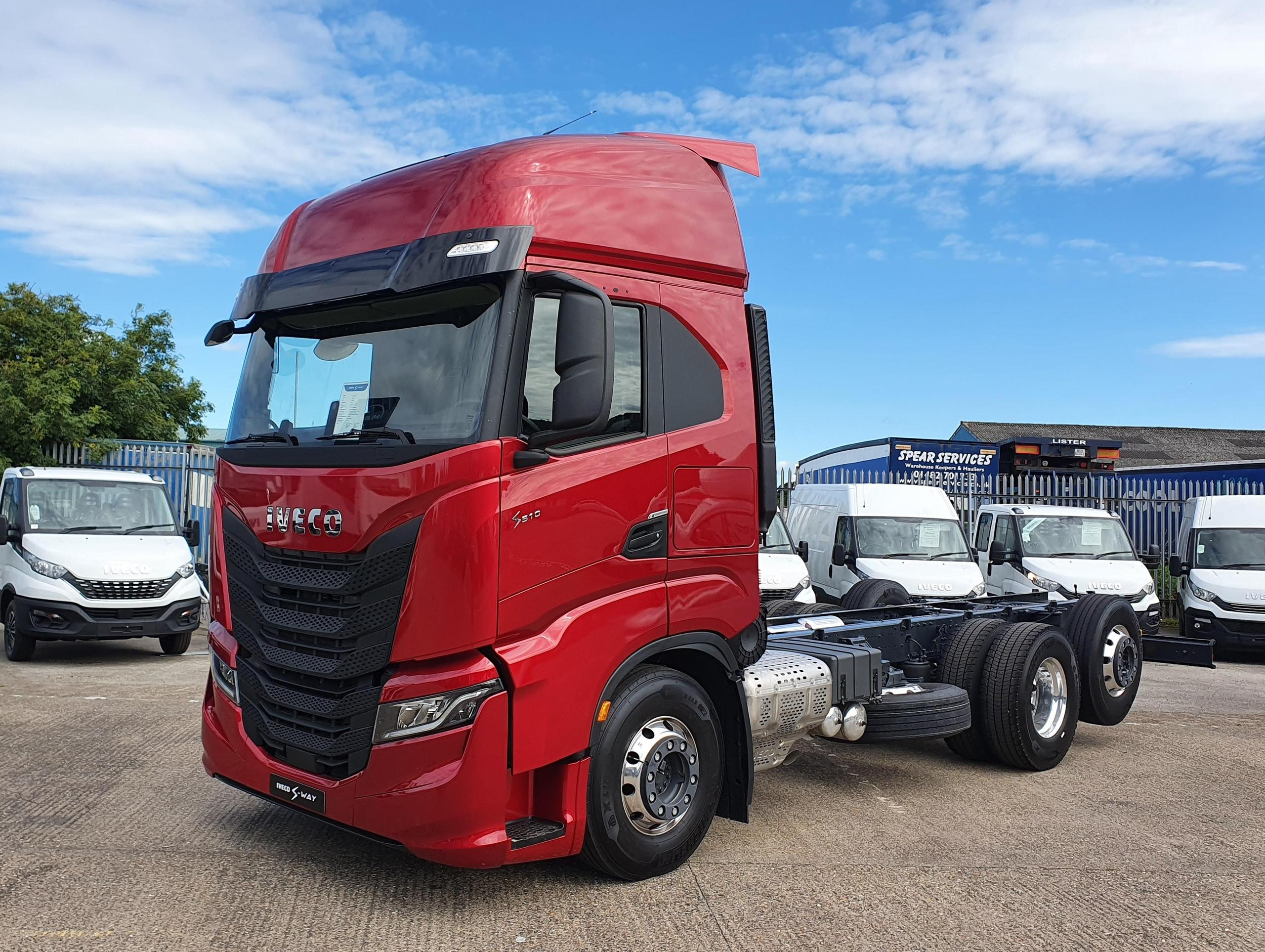 New IVECO S-WAY Rigid touring  North East Truck and Van locations