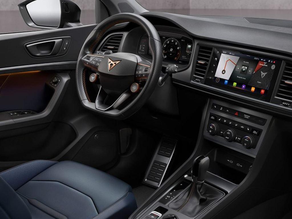 New Cupra Ateca 2020 Interior Dash