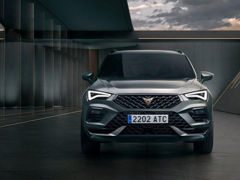 New Cupra Ateca 2020 front view