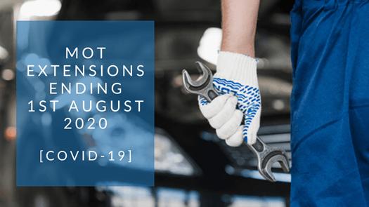 MOT Extensions Ending [COVID-19]