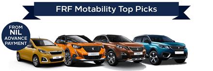 Peugeot Motability Top Picks