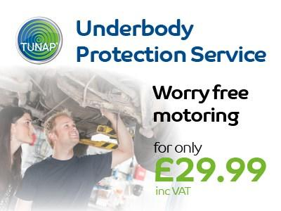 TUNAP Under body Protection Service Tunapp Servicing Offers | Cambridge, Bury St Edmunds, Ipswich  | John Banks Group | Automotive Retailer and Workshops