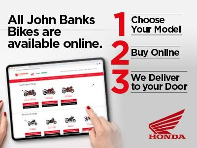 Honda Motorcycles - Purchase On-line