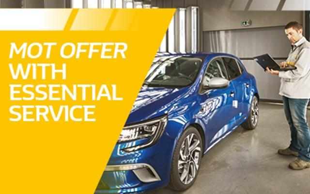 Renault Essential Service and MOT
