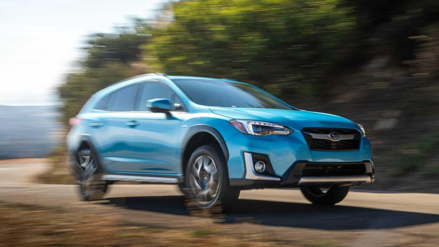 The Subaru XV E-BOXER
