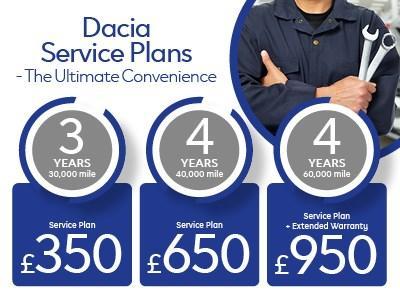 Dacia Service Plans