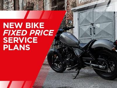 Honda Motorcycles Servicing - New Bike Fixed Price Service Plans