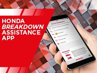 Honda Motorcycles - Breakdown Assistance App