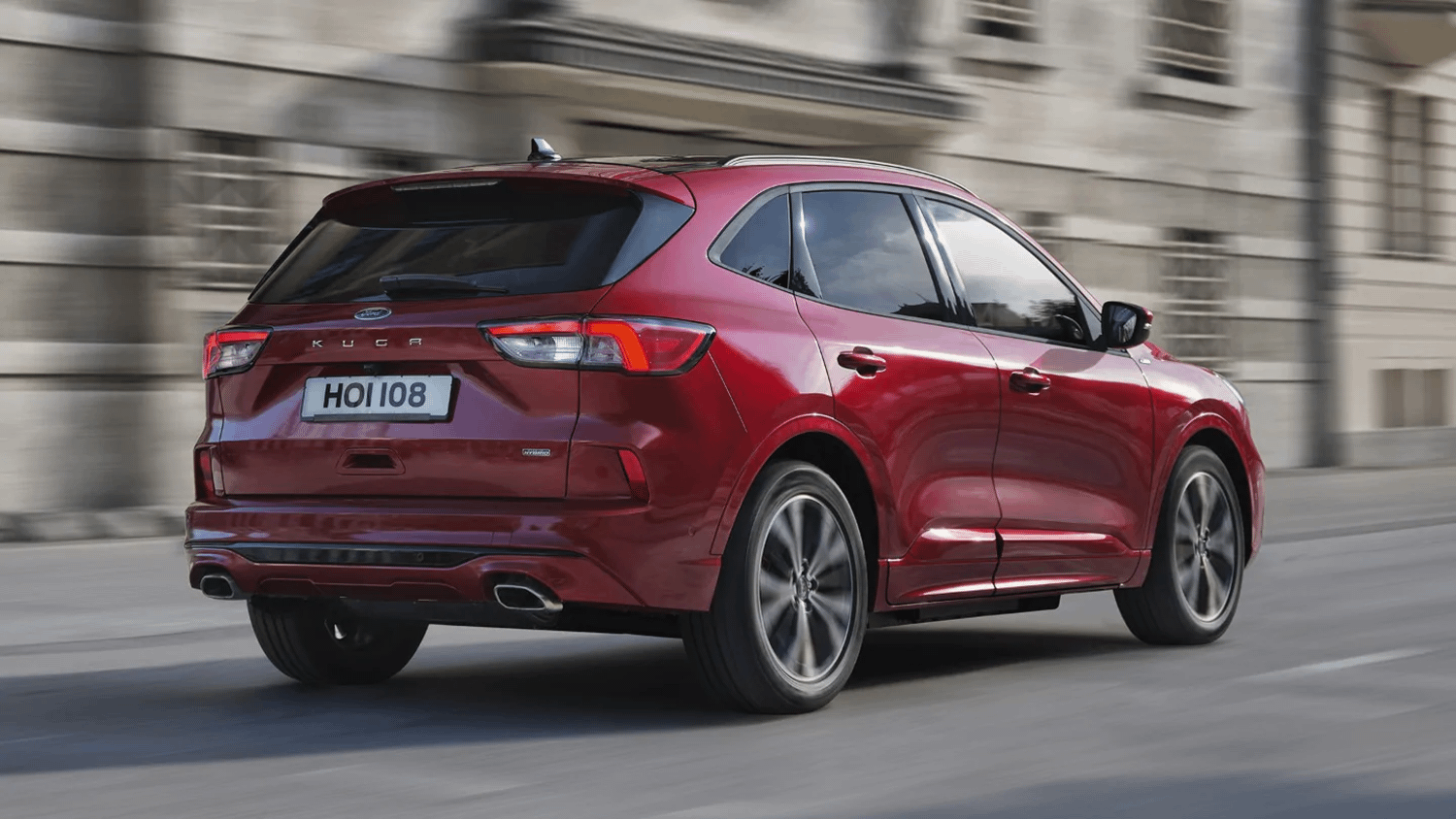 New Ford Kuga Red
