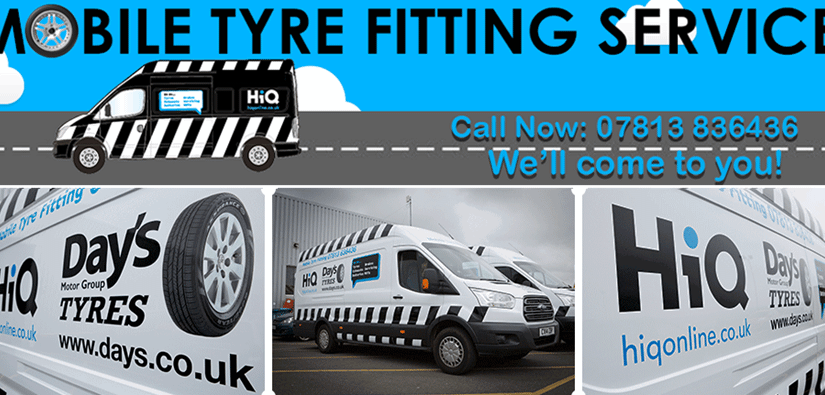 Mobile Tyre Fitting Available!