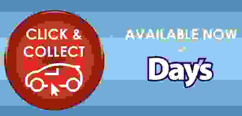 Click and Collect Now Available!