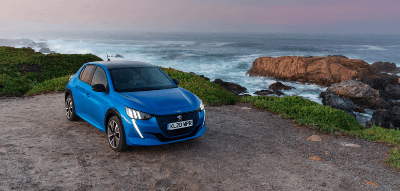All-new Peugeot e-208 Wins Award