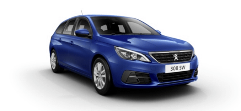 Peugeot 308 SW Motability Offers