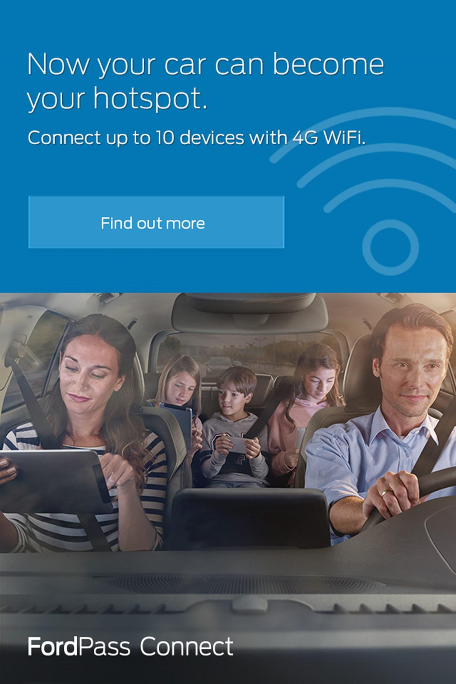 Now your car can become your hotspot