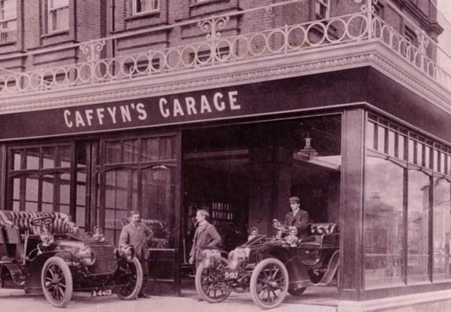 The History Of Caffyns Established For 150 Years
