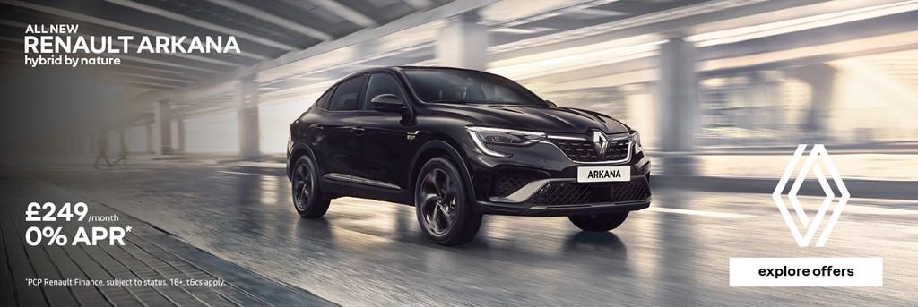 Renault Arkana PCP Offer