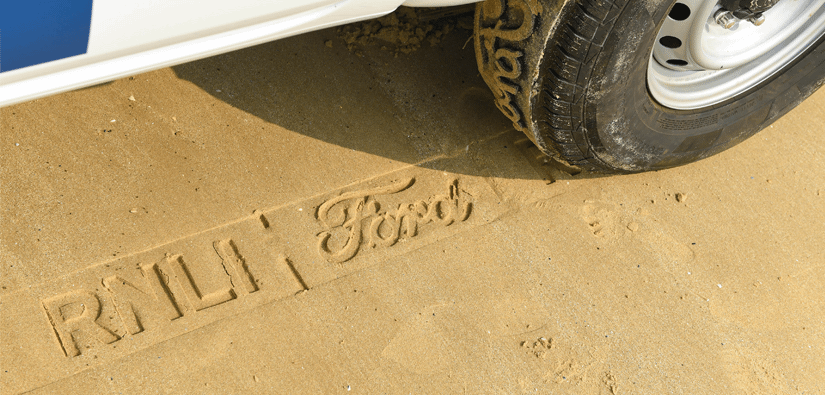 Ford Help RNLI Spread Safety Messages