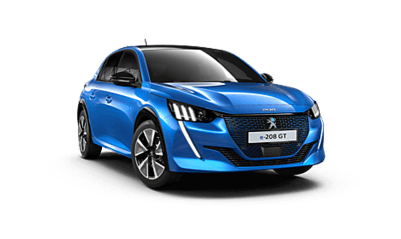 All-New Peugeot e-208 From £599 Advance Payment