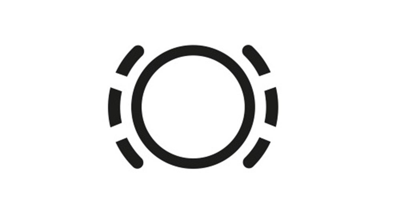 Brake Pad Monitoring Warning Light