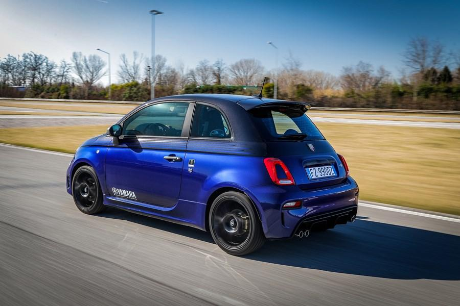 Abarth presents two new 595 special series: Scorpioneoro and Monster Energy Yamaha