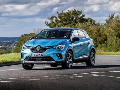 Renault Captur E-TECH 0% Offer
