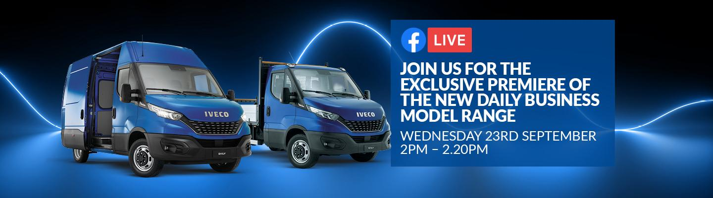 New IVECO Daily Business Virtual Launch coming to North East Truck and Van