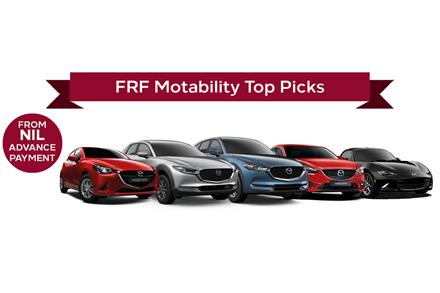 Mazda Motability Top Picks