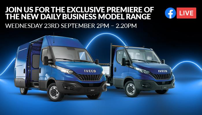 Register for the IVECO Daily Business Model Virtual Launch Today