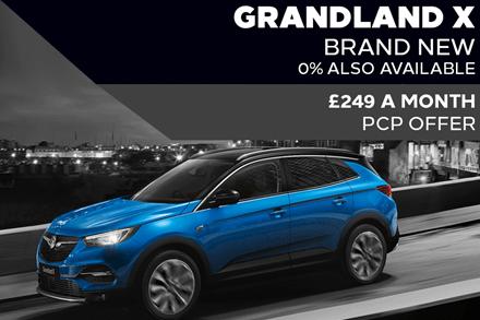 Brand New Vauxhall Grandland X - £249 A Month