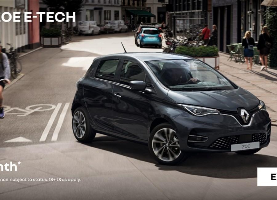 Renault Zoe E-Tech 100% Electric