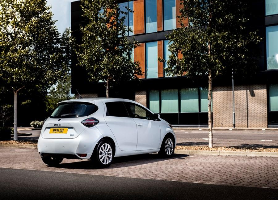 All New Renault Zoe Van