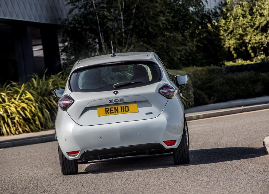 All New Renault Zoe Van E-Tech 100% electric
