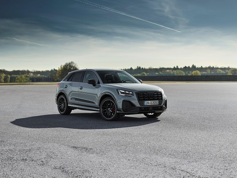 Audi Q2 in grey
