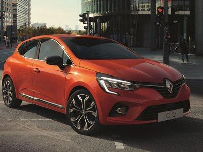 All-New Renault Clio Business Lease Offer