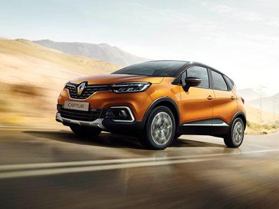 All-New Renault Captur Business Lease Offer