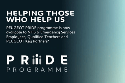 PEUGEOT PRIDE PROGRAMME: HELPING THOSE WHO HELP US