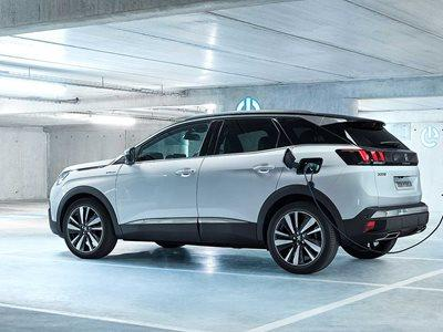 Peugeot 3008 Hybrid Business Lease Offer