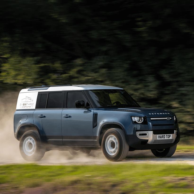 New Land Rover Defender 110 Hard Top