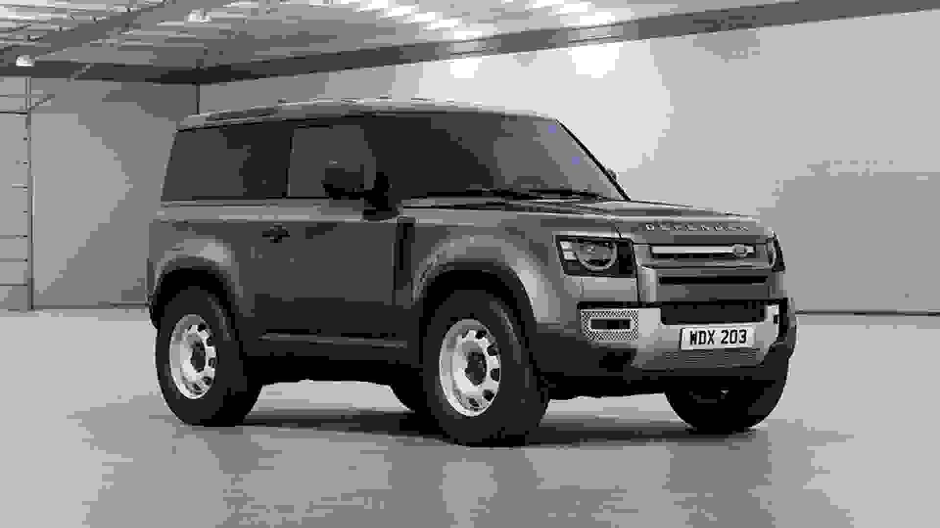 New Land Rover Defender 90 Hard Top