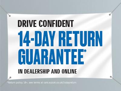Suzuki 14 Day Return Policy