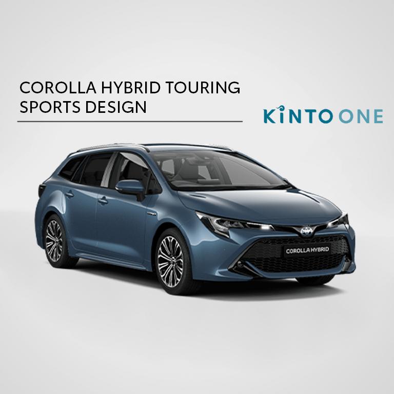 Corolla Hybrid Touring Sports Design