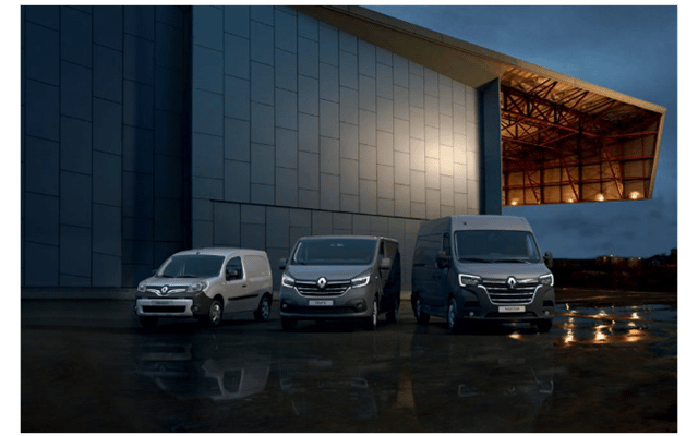 Renault Contract Hire Vans
