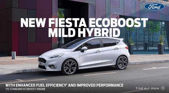 Ford Fiesta Mild Hybrid with 0% APR