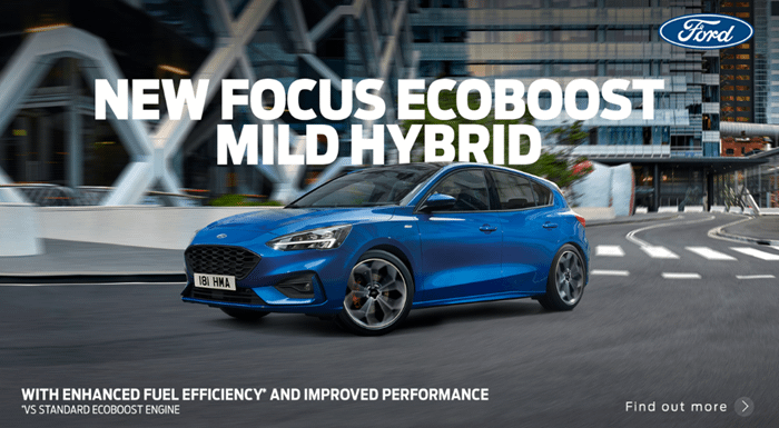 Ford Focus Mild Hybrid with 0% APR