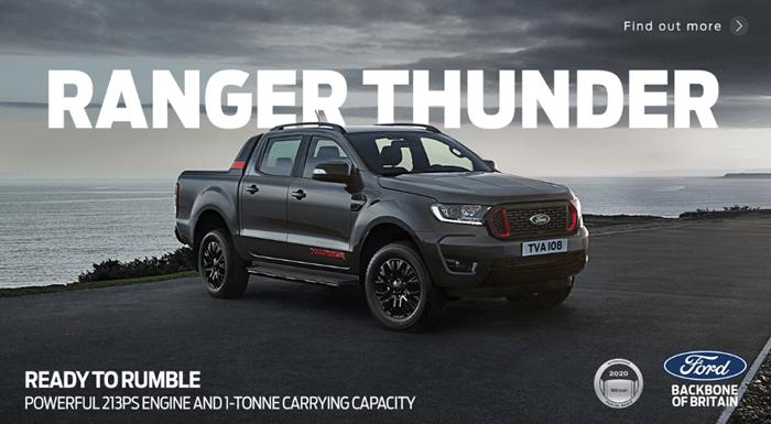 Ford Ranger Thunder Business Offer