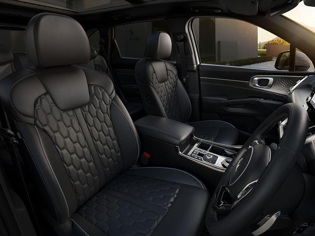all new kia Sorento interior - Startin Kia Redditch