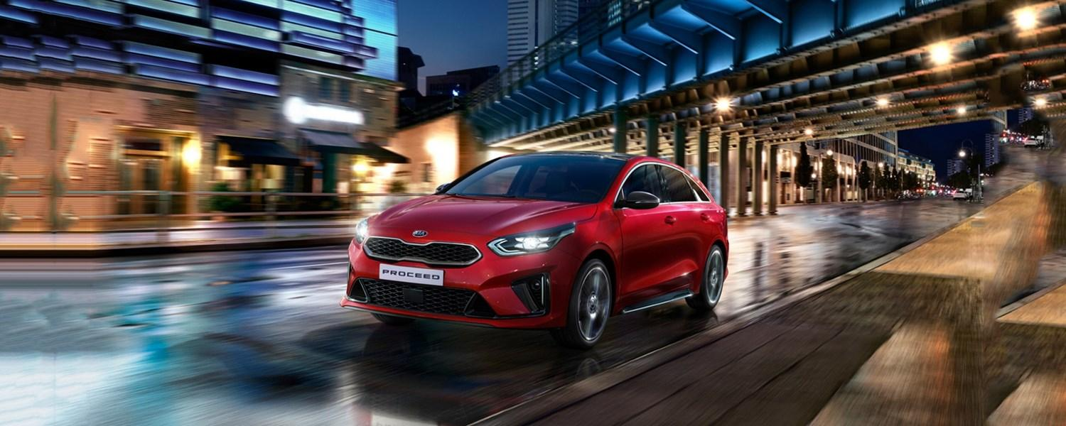 All New Kia Proceed offer