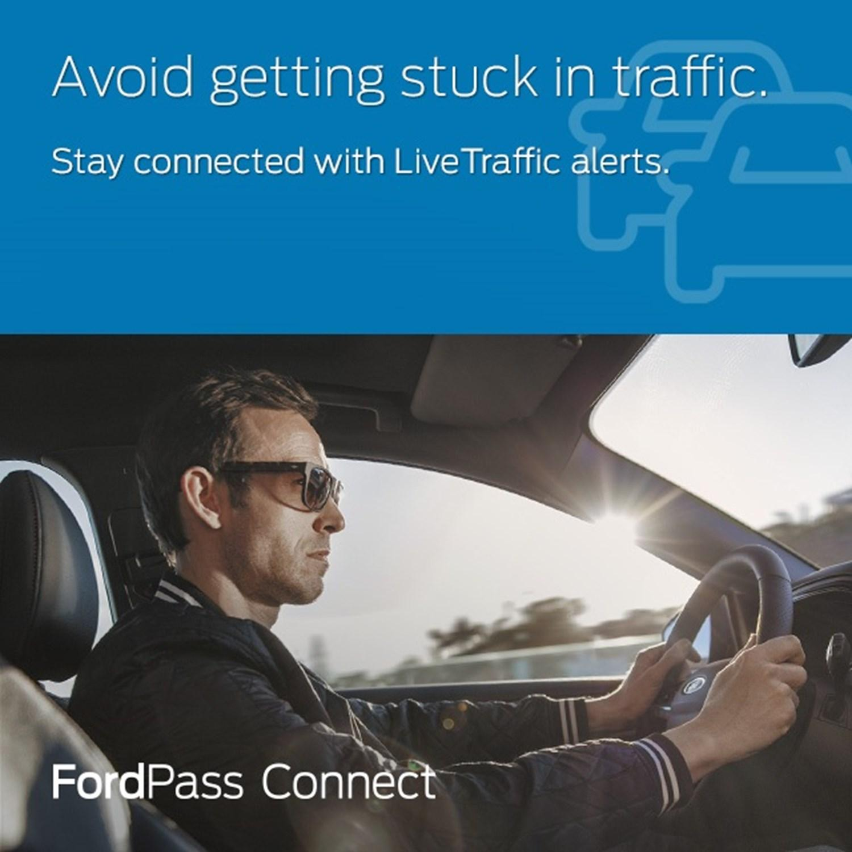 FordPass Live Traffic Updates