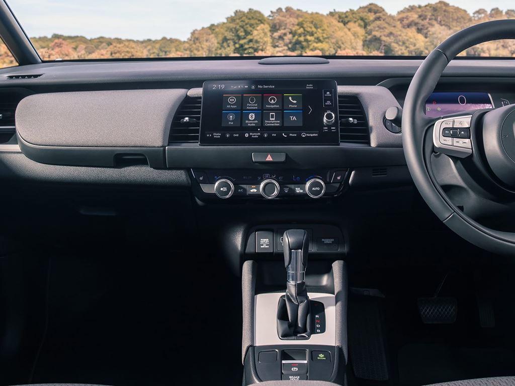 Startin Honda CROSSTAR - interior jazz hybrid