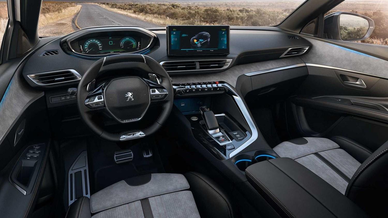 New Peugeot 3008 SUV interior